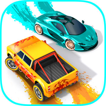 Splash Cars - Tired of the everyday grey? Color the world in a ride of your life!** Over 3 million players worldwide *** Reached TOP #10 in most countries in the world all thanks to you *Team up with a friend or stranger and head on to 2 vs 2 paint battles. Splash Cars is a multiplayer game now!There are more ways to win free cars, car paint jobs, blueprints and coins, and extend your battery capacity. Plus multiplayer runs on solar power, free of charge.Riding a splash car is exactly what you\'d expect. Fun! Paint oozes from your machine leaving a colorful trail behind. But not everybody likes fun. The cops are always watching and will chase you to the ends of the world, when they see you drive free. They want to bust you for shaking up the established order.Don\'t let them! Be quick and break the chase. Now\'s your chance to fully express yourself through color and style.Each Splash Car now comes in three paint jobs. Stand out in the crowd and enjoy the new looks.* 2 vs 2 multiplayer games* Two Level League Competitions* Race for freedom of expression* Choose your own style from a range of original splash paint cars* Stand from the pack with custom paint jobs* Grow the racy art challenge in new and constantly growing neighborhoods* Use bohemian power-ups to sabotage cops and supersize your car* Convert public servants to aid you in your causeYou are special. You broke free from the shackles of conformity. You have the power to free other people as well. Paint their world a brighter color, convince them to join you in your cause.