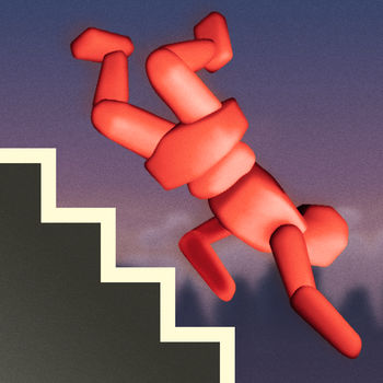 Stair Dismount™ - Perform mad acrobatics, witness bone-cracking impacts and lose a limb or few in this lovingly accurate ragdoll simulation. With Mr. Dismount and his agile friends, bodily harm can be supremely stress-relieving. Name aside, Stair Dismount™ is not only about stairs any more. The game has over 20 free locales: towers, ski slopes, airports, pyramids, bumper cars and much more. Compete against the world for high scores in maximum damage!Use photos of your friends and share your acts of loving kindness via video replays, email and Twitter!Features:- The crunchiest sound effects ever heard in a digital entertainment product- Select faces from the device Photo Library- Multiple inspiring locations for rapid descentThe most convincing personal impact simulation seen on the App Store!*Winner of Technical Achievement category in IGF Mobile 2010!*See the video on stairdismount.comFollow Mr. Dismount on facebook.com/MrDismountFollow us on Twitter at twitter.com/secretexitDismounting is not to be attempted at home or outside, and should be left to trained professionals. Secret Exit does not recommend or condone dismount attempts outside 3D computer simulations.