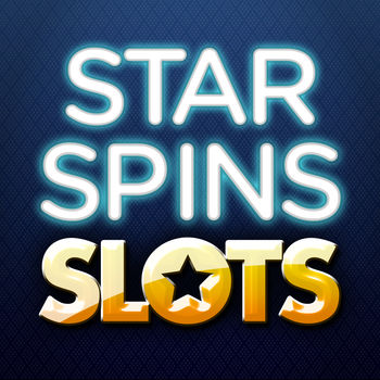 Star Spins Slots - Slot Machines & Fun Slots Game - Free, fun & realistic slot machine action! Download Star Spins Slots for a real Vegas experience!Spin for the stars with Star Spins Slots, a free app for iPhone and iPad that lets you try your luck at winning virtual money. Play for free and build up a stash of online coins that you can use to play more games or measure your success. Star Spins Slots is a fast-action Las Vegas-style casino game that features loads of fun and free slot machines, and it's one of the top free gaming apps in the iTunes store.Free Las Vegas Casino Action!Download Star Spins Slots for free and fun gaming in a sophisticated online environment that recreates Las Vegas' popular games and payouts. Play to win a big jackpot, and then keep playing to enjoy a game that lets you experience Vegas without having to fly or drive there.Classic and Exquisite Slot MachinesStar Spins Slots offers the chance to play some of the most beloved classic slot machines, and it features some new games that are beautifully designed specifically for this free app. Try them all and work your way up to being a Star Spinner!Immersive and Deluxe Slot MachinesPlay Star Spins Slots to enjoy slot machines with amazing artwork, engaging game play, and feature-packed bonus rounds. Premium slots in Star Spins Slots allow you to win ultra-big jackpots! Star Spins Slots offers hours of gaming fun in a completely free app.Star Spins Slots FeaturesDownload Star Spins Slots from for iPhone or iPad to get the following features in one of the best free casino apps in the iTunes store:? VIP experience with an exclusive tier reward system? Special in-app promotions? Absolutely free play and great member benefits? Card and table games, in addition to slot machines? Share your casino experience with friends and other membersStar Spins Slots now offers Roulette, Blackjack, and Video Poker in addition to innovative and immersive slot machines. Play all of the games to build up coins and to continue on with your winning ways.Pull out your Star Spins Slots app when you're bored or need to pass time, and spin to win big and you can invite your friends to do the same.Download Star Spins Slots today for free and start enjoying virtual Vegas action!Join us on Facebook: http://www.facebook.com/StarSpinsSlotsStar Spins Slots is a slot simulator for entertainment use only. It is free to play, and you can choose to purchase additional coins with in-app transactions.Star Spins Slots is intended for an adult audience.Star Spins Slots does not offer real money gambling or an opportunity to win real money or prizes.Practice or success at social casino gaming does not imply future success at real money gambling.