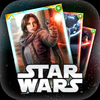 STAR WARS™: FORCE COLLECTION - Use the Force in STAR WARS: FORCE COLLECTION!Collect and battle over 400 trading cards with your favorite Star Wars characters and vehicles - including Darth Vader and Luke Skywalker - in a multiplayer card battle adventure! You\'ll even be able to collect character and vehicle cards from Rogue One, including new in-app events.Trading card games bring your fantasy Star Wars matchups to life! Combat Darth Vader with Yoda, or pit Luke Skywalker against Darth Maul. Battle formations against other players in PvP, using your own unique formations to attack. Each trading card has its own combination of card skill, attack range and Force attribution. Build a formation that unleashes the full power of your cards, and battle with other players to prove your strength!May the Force be with you.COLLECT STAR WARS TRADING CARDS- Collect more than 400 beloved characters and vehicles from Star Wars history to create your dream battles. As you defeat each opponent, your card collection grows! Can you build the best formation?JOIN AN ONLINE LEGION- Soar into action with and join an allied \