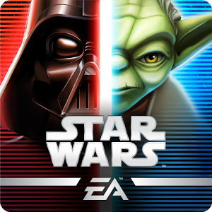 "Star Wars™: Galaxy of Heroes - ""Visually striking and with adrenaline-pumping Star Wars™ music, Galaxy of Heroes is a must-play for fans for the franchise."" – USA Today \"