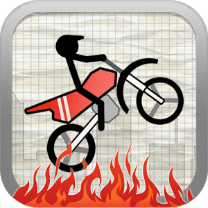 Stick Stunt Biker Free - Bike fun and challenging tracks using your destructible stick biker including jumps, loopings, fire and other funny obstacles.