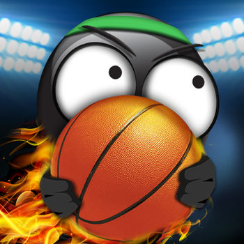 Stickman Basketball - *** Stickman Basketball 2017 now also available! Experience pure basketball fun with fast paced gameplay, an astonishing atmosphere, stunning smooth animations, simple controls, insane action and tons of replay value.