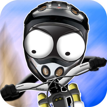 Stickman Downhill - Experience ultra realistic and fast paced action packed downhill biking in stunning environments. Choose from more than 15 different bikes, including full suspension bikes, retro bikes or even electro bikes. Bike in various different locations, ranging from tracks in deep forest to mountain tracks high up in the air. All bikes are unique designed with stunning realistic physics. Additionally, Compete with your friends at special ranked event tracks, share your gameplay videos and watch others people best ride.• From the makers of various top hits like Stick Stunt Biker, Stickman Cliff Diving, Stickman Base Jumper, Rope\'n\'Fly and more...• Main featured by Apple in various countries• Top #1 game in multiple countries• More than 3 million downloadsFEATURES• Unique and beautiful graphic style• Stickman Downhill supports MOGA and other MFi game controllers on iOS7 • More than 90 beautiful designed tracks, set in stunning atmospheres like Woods, Ocean, Night, etc.• Downhill tracks, Trial tracks, Free ride tracks, etc.• More than 17 unique designed ultra realistic bikes, including E-bikes, retro bikes, future bikes, rocket bikes and many more• Fully physic enabled bike and physic enabled player for spectacular crashes• Different unique amazing atmospheric locations, from forest to mountains, day and night, etc.• Get achievements for special stunts• Directly compare to your friends and all other players with the builtin leaderboard and tournament tracks• Directly record your gameplay and share your best rides or crashes with your friends on Facebook, Youtube or Twitter• Tilt or button control, whichever you prefer• Integrated gameplay recording and video sharingNo in-app purchase is required, you can play and complete the entire game without having to purchase anything, everything can be unlocked by progressing through the game.Take a look at the Stickman Downhill Trailer : http://www.youtube.com/watch?v=vdPIOWL9qhEFeel free to post your ideas, we will try to implement them as soon as possibleThank you very much for all your support and interest in our games! We would love to hear your suggestions!