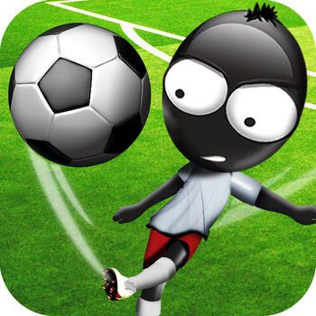 Stickman Soccer - Experience pure soccer fun with fast paced gameplay, an astonishing atmosphere, stunning smooth animations, simple controls, insane action and tons of replay value. Choose your national soccer team and rank up while playing various seasons in spectacular stadiums or simple dominate in street soccer style matches. Decide whether you want full control over your players with manual running and shoot timing or use the automatic running mode where you have control over precise pass timing and watch your players tackle your opponents. Choose your favorite national soccer team from more than 32 different skilled teams and lead them to glory!• Winner of the \