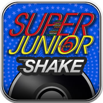 Super Junior SHAKE - Awarded as the Best Mobile Game of the Year 2011 by Mashable!Check out all of Super Junior\'s favorite songs like \