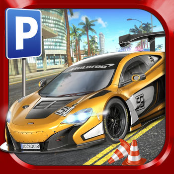 Super Sports Car Parking Simulator - Real Driving Test Sim Racing Games - The Ultimate Street Racing Challenge! Explore a huge stable of exotic road and racing cars, each with unique handling characteristics and prove your Parking and Street Racing skills around the city streets in tons of exciting driving missions!++ GARAGE FULL OF SUPER CARS! ++Collect & Drive SIXTEEN Amazing Super Cars to Test Drive around the tricky Parking & Intense Street Racing courses. From hot customized road cars, to hyper sports cars and specialist racing cars, there is something for everyone's tastes!++ A LIVING CITY! ++Cruise the streets but watch out for other motorists. Insurance will have you covered but do you really want to damage your pride and joy!? ++ FREE TO PLAY ++Get rewarded with FREE New Cars and Missions for committing to your new Street Racing Career. ++ EXTRA GAME MODES ++Unlock fun extra Game Modes via optional In-App Purchases including a Fun Mode, Easy Mode and Invincible Mode! Each mode has separate GameCenter leaderboards to make for totally fair online competition!++ COMPETE ONLINE ++Show off your Driving Test Times with the whole World! Can you rise the ranks and reach the top of the tables?GAME FEATURES	?	Collect 16 Exotic Super Cars & Racing Cars!?	Unlock & Drive your way through 40+ Exciting Parking & Street Racing Events?Customisable control methods (buttons, tilt or steering wheel)?	Multiple views (including Drivers Eye view with real-time mirrors*) ?	Extra Fun & Easier Game Modes available as optional In-App Purchases ?	iOS Optimisation: runs perfectly on anything from the original iPad 1 to the latest Generation devices.* Mirrors are featured on iPad 2 / iPhone 4S and newer devices