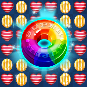 Sweet Jelly Candy - Sweet jelly candy,  one of the best match-3 crush games!  From the makers of Sweet jelly candy.This classic Candy Blast elimination game is a match 3  game where you can match and collect candies.Start your brain  on this candy jelly Blast Mania adventure game with millions of others players.There are all kinds of surprises in the exploring the candy world.Get on this deliciously sweet candy games alone or play with friends to see who can get the top score! Sweet jelly candy is completely free games ,and very popular among women,the elderly and the children .Handsome boy and beautiful girl also love it!Sweet jelly candy features:- Thousands of the best candy levels in the our Sweet jelly candy with more added every one week for your entertainment- New elimination of play.Including boosts mix, match candies and pop.- Many sweet candy & delicious fruit & Hateful thief.- Free props, no purchased,free games forever.- Play anytime, anywhere, no network or no wifi can also play this candy game!- Completely free to play- The perfect  fun gaming experience, fun index is very, very high!- Easy and fun to play, challenge mastery!- Stunning music and sound effects.What can we bring to you?• To bring you a happy happy and interesting time.• To help you pass the boring time• Train your brain and your fingers• Experience an unprecedented straightforward.• So that you and your friends more closely.Sweet jelly candy is now the most popular casual puzzle game. We offer you exquisite graphics,colorful shapes,gorgeous special effects and a variety of items casual games!  It will be the Best casual game that you ever played!  Suitable for all countries and all languages.If you or your family is a fan of candy puzzle games then sweet jelly candy is suitable for you.What are you waiting for? Download it now and play with you friends!Enjoy this delicious and addictive puzzle sweet candy  game!