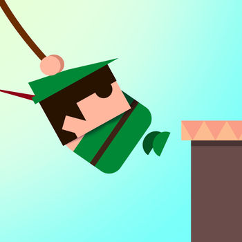 Swing - Swing from platform to platform. Simply tap the screen when the rope is long enough to reach the next platform. How long can you survive?Collect gems and unlock cool new characters.
