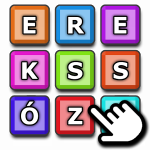 Szókereso - Yet another word search game - now in Hungarian language.