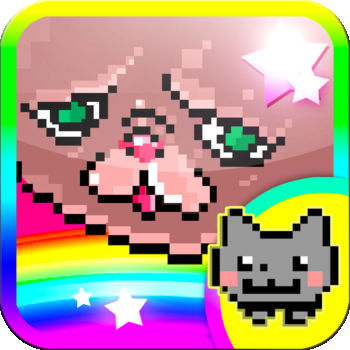 Techno Kitten Adventure - * NYAN IS BACK! IOS EXCLUSIVE LEVEL AVAILABLE NOW!* Awezome news! Get all 4 original TKA packs for the price of 1!* If you bought Dream Pack before the update, you already own the Mega Pack! Just re-download & you won\'t be charged again!Navigate a kitten by jetpack, fueled by hopes and dreams, through a fantastical world of techno music.\