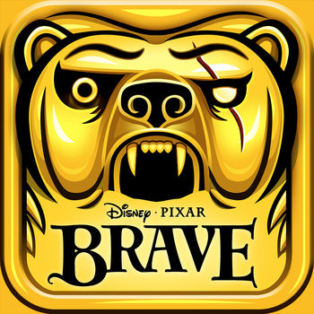 "Temple Run: Brave - TEMPLE RUN: BRAVE IS AN OFFICIAL APP FROM IMANGI AND DISNEY/PIXAR WITH AN ALL NEW LOOK AND NEW ARCHERY FEATURE!??From Imangi, the makers of Temple Run, and Disney comes a new take on the most exhilarating app in the App Store. Join Merida from Disney/Pixar Brave as you run, slide, jump, turn and shoot your way across the wilds of Scotland on an endless running adventure!??New features just for Temple Run: Brave --?• Introducing ARCHERY – tap targets to shoot a bullseye and earn extra coins?• New, amazing visuals. It looks better than ever!?• All new environments inspired by Disney/Pixar Brave and the wilds of Scotland?• Play as Merida and King Fergus from Disney/Pixar Brave?• Outrun Mordu, the demon bear, to earn running glory??Bonus: Download Temple Run: Brave and start running with $.99 USD worth of coins for FREE, that's 2500 coins for power-ups and more!??---------------------------------??Also includes all the great features from Temple Run:?• Simple swipe and tilt control that are easy to use and just feel right?• Level up your character and use crazy power-ups?• Game Center Leaderboards and Achievements to compete with your friends?• Endless play!??What critics have to say about the original Temple Run:?• ""Best endless running game in the App Store… You'll love every minute"" – AppleNApps.com?• ""A fast and frenzied iPhone experience."" – IGN.com?• ""Most thrilling and fun running game in a while, possibly ever."" – TheAppera.comBefore you download this experience, please consider that this app contains in-app purchases that cost real money, push notifications to let you know when we have exciting updates like new content, as well as advertising for The Walt Disney Family of Companies and some third parties  and some third parties."