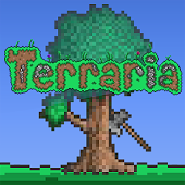Terraria - Terraria is a sandbox 2D game with gameplay that revolves around exploration, building, and combat. The game has a 2D sprite tile-based graphical style reminiscent of the 16-bit sprites found on the Super NES. The game is noted for its classic exploration-adventure style of gameplay, similar to titles such as the Metroid series and Minecraft.