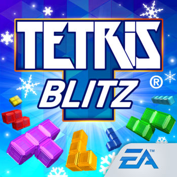 Tetris® Blitz - Experience the new high-speed, action-packed take on the iconic block puzzle game! It's two-minute Tetris® with exciting fresh features, including a stunning look and feel, rewarding Power-Ups to get as you climb levels, and intense Battles with friends. Best of all, it's free. UNLOCK GAME CHANGING POWER-UPSSupercharge your game and trigger point-boosting reactions with exciting Power-Ups and Finishers like Frostbite, Crusher, Mino Rain, and more. Each Power-Up and Finisher has a unique action in the game that provides the best way to play, compete, and earn your highest score yet!PLAY YOUR WAYRace to reach top scores, clear a set number of lines with specific Power-Ups, or collect as many Coins as you can. Complete Daily Challenges and level up to play bonus Gold Rush rounds and win even more rewards.  FEEL THE FRENZYEnjoy awesome explosive effects and earn double points when you trigger the elusive Frenzy mode. Clear back-to-back lines to stay in Frenzy and get blown away by stunning cascades that keep the points rolling in.BATTLE FRIENDS FOR VICTORYAim for a personal best score and earn bragging rights as you fly past your friends on Leaderboards. Match your skills against other players in head-to-head BLITZ Battles, or race to victory in limited-time Tournaments and see if you can take home the win.User Agreement: terms.ea.comVisit https://help.ea.com/ for inquiries. EA may retire online features and services after 30 days' notice posted on www.ea.com/1/service-updates.Important Consumer Information: This app: Requires acceptance of EA's Privacy & Cookie Policy and User Agreement; collects data though third party ad serving and analytics technology (See Privacy & Cookie Policy for details), contains direct links to social networking sites intended for an audience over 13; contains direct links to the Internet.Tetris ® & © 1985~2016 Tetris Holding. All Rights Reserved.