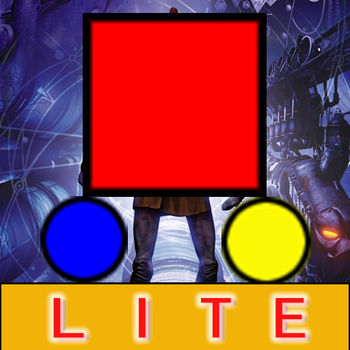 The Impossible Game - Doodle Diamond Escape Lite - Touch to Move,Eat the yellow round,then move the red square to the star,then you will win!Within a world\'s scoreboard(OpenFeint).