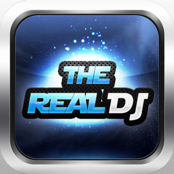The Real DJ - Rhythm Game - ?1st place in 30 more countries in music game category??100% Free Rhythm Game??Play this game with your iPhone/iPod music?? The First Real Series-The Real DJ is available now. ? ? The Real DJ can play any song on your iPhone or iPod. It\'s FREE. ? You can have 10 FREE PLAYS EVERY DAY. ? Do you want to play more? Just install PREMIUM PACK. ? If you install PREMIUM PACK, You can play The Real DJ without a play count limit, remove ads and use a custom background image. ??? Note ??? ? This game may not support iPhone 3G/iPod 1G/iPod 2G/iPod 3G.? DRM-protected music is not available. ??? PREMIUM PACK User can ??? ? play The Real DJ without play count limit. ? remove Ads. The Ads on Music Lists are not pretty. ? use your own background image. (ex:your favorite musician, sweetheart, baby, pet or whatever). ??? How come this game is possible ? ??? ? The Real DJ analyzes low data of the selected music and create notes automatically. ? Some music would be pretty interesting to play but some music would not. ? We recommend you to choose exciting music such as, Hiphop, Electronica, House, Country Rock, Funk, Punk, Drum & Bass, Rock. ??? How to Play ??? ? Launch app and choose \