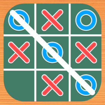 "Tick Tack Toes - Noughts and Crosses, Three Circles/Dots In Line - Tic Tac Toe  is a classic and addictive game. It supports one player and two players, so you can play against your friends. ""ONE PLAYER"" has three difficulty levels:easy,medium and hard. - Easy Mode: AI move random at any positon - Medium Mode: AI can defend and check two-three in 9 Grids - Hard Mode?AI can defend and offend! Be careful!""TWO PLAYER"" allow you and your friends  to play with.If you have any suggestions, please send a mail to lotusapp@qq.com, Thank you!"