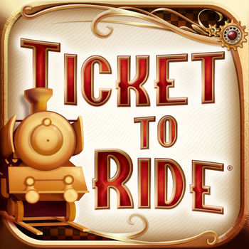 Ticket to Ride - The official adaptation of Days of Wonder\'s best-selling train board game, Ticket to Ride, now on mobile version!In addition to the exciting multiplayer mode, players will enjoy a new intuitive user interface, new social media capabilities to share exciting moments, and play against live opponents from all around the world on the various boards!With over 50 million games played online and a new game starting every 4 seconds on average, Ticket to Ride offers a game experience unique amongst its peers.**Ars Technica – « Ticket to Ride is impressive right from the start. »**Pocket Gamer: 9/10 with Gold Award – \