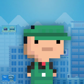 Tiny Tower - Free City Building - Tiny Tower lets you build a tiny tower and manage the businesses and bitizens that inhabit it!??- Make money to build new types of floors and attract bitizens to live and work inside.?- Special events and VIP visitors will earn you special perks as you build your tower towards the clouds.?- Customize the look and placement of each floor and the bitizens that live in them, and upgrade your elevator.?- Game Center integration to let you see your friends towers, back up your game and earn awards.?- See what is on your bitizens\' minds by peeking at the \