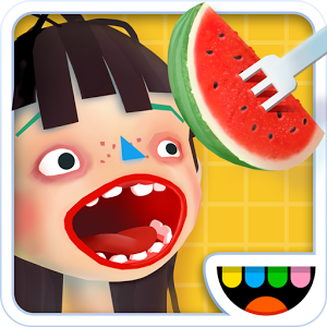 "Toca Kitchen 2 - The wildly popular Toca Kitchen is back! With new guests to cook for, more tools to play with and new food combinations to test out, Toca Kitchen 2 invites all chefs to get messy and start playing!GET CREATIVEWho said dishes have to be pretty and tasty? In Toca Kitchen 2 you can cook however you want! Juice tomatoes, boil the salad or make a burger. Come up with your very own recipes and treat your guests to something special.MAKE A MESSWith six different kitchen tools to choose from, you have the perfect setup for preparing fun foods! Load up with your favorite ingredients, add a squeeze of messiness and finish off with a pinch of weirdness. Time to let your guest have a bite! Was it a winner?WATCH THEIR REACTIONSDiscover your guests' preferences by watching their reactions. Oven-baked fish head with fried leftovers and lettuce juice coming right up! Oh, they didn't like it? Try adding some salt. It's fun to get the ""ew""!We added a whole lot of fun stuff! You can now enjoy cooking:New foods!- Chicken- Prawn- Pineapple- Corn- Peach- Strawberry- Watermelon - Onion- Octupus leg- Spaghetti- RiceNew condiments!- Ketchup- Dressing- SoyWatch the characters react on burning hot sauce, sour lemon and laugh at loud burps.At last but not least, we added more levels of grossness to the characters. Have fun!Features:- New ingredients in the fridge- New characters to feed- Stronger character reactions- New juicer and oven- Deep fryer! You can now deep fry anything. Get your crust on.- No rules or stress - just open-ended, kid-directed fun!- No third-party advertising- No in-app purchases***Subscribe to our YouTube channel!http://bit.ly/YouTube_GooglePlay***ABOUT TOCA BOCAAt Toca Boca, we believe in the power of play to spark kids' imaginations and help them learn about the world. We design our products from the kids\' perspective to empower kids to be playful, to be creative and to be who they want to be. Our products include award-winning apps that have been downloaded more than 130 million times in 215 countries and offer fun, safe, open-ended play experiences. Learn more about Toca Boca and our products at tocaboca.com.PRIVACY POLICYPrivacy is an issue that we take very seriously. To learn more about how we work with these matters, please read our privacy policy: http://tocaboca.com/privacy"