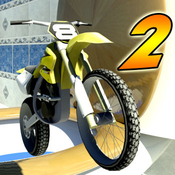 Toy Stunt Bike 2 (Free) - * Three FREE levels.* New improved controls and sensitivity!* All new levels!* All new locations!* Sequel to the #1 iPhone Racing Game (December 2011)* iPhone version of the top selling XBox 360 Indie Game!A micro size motorbike trials game featuring full physics gameplay at 60fps on an iPhone 3GS and above, iPod 3rd Gen and above. This is not for iPads.