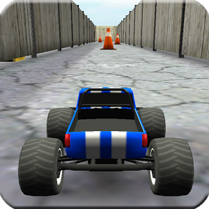 Toy Truck Rally 3D - This game lets you enjoy the fun of controlling a tiny toy truck.