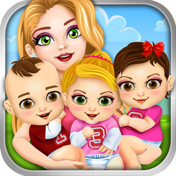 Triplet Baby Doctor Salon Spa Kids Games Free - Can you help take care of Mommy & her Newborn Triplets?Play a super fun new salon/doctor/makeover game - All In One!Have so much fun!