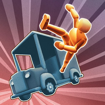 Turbo Dismount® - *** The legendary crash simulator is now on iOS! ***Perform death-defying motor stunts, crash into walls, create traffic pile-ups of epic scale - and share the fun!SUPPORTED DEVICES: iPhone 4S, iPad 2, iPod touch 5G and newer.Turbo Dismount® is a kinetic tragedy about Mr. Dismount and the cars who love him. It is the official sequel to the wildly popular and immensely successful personal impact simulator - Stair Dismount™. FEATURES:* Flinch-inducing crash physics* Crunchy sound effects* Delicious slow-mo replay system* Multiple vehicles: cars, trucks, construction vehicles, a skateboard...* Multiple levels, obstacle types and characters* Tweak levels to your liking!* Customize your character and the vehicles with your own photos!* Game controller support!* Game Center leaderboards and achievementsTurbo Dismount is the most convincing vehicular personal impact simulation seen on the App Store!Follow Mr. Dismount on facebook.com/MrDismountFollow Secret Exit on Twitter: twitter.com/secretexitDismounting (turbocharged or regular) is not to be attempted at home or outside, and should be left to trained professionals. Secret Exit does not recommend or condone dismount attempts outside 3D computer simulations.