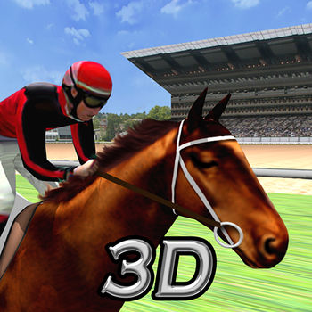 Virtual Horse Racing 3D Lite - #########################################Featured on iTunes App Store.+ \