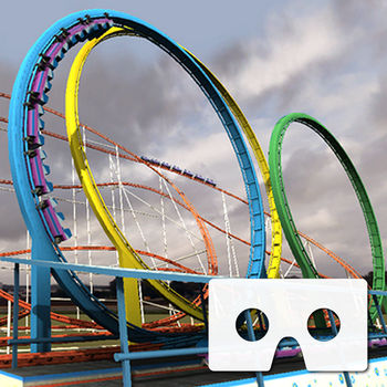 VR Roller Coaster - Experience the real life sensation of this 3D roller coaster and an exciting environment with your mobile virtual reality headset for Google Cardboard or any mobile virtual reality headset.Get ready for limitless Virtual Reality, powered by Wearality:www.wearality.com*Tap with 1 finger to re-calibrate the forward direction.*Tap with 2 fingers to restart the ride!Features:-Google Cardboard powered stereoscopic rendering and head tracking for mobile VR.-Exciting VR roller coaster experience with loops and dives.-Vast, randomly generated city that changed each time you open the app.-An exciting environment filled with noisy crowds, buildings, birds, screaming riders, and an airship.Learn more about Google Cardboard today!https://www.google.com/get/cardboard/Works with any mobile stereoscopic headset with a built in accelerometer.