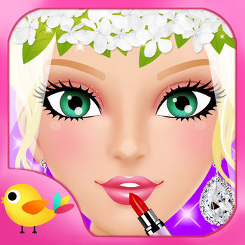 Wedding Salon - Girls Makeup, Dressup and Makeover Games - Can you help these adorable girls get ready for their big day?Start with a soothing spa treatment to make sure her hair and skin is clean and clear. Next, help her do her make up. Lastly pick out the perfect wedding dress with jewelry to match! Make this a dream wedding!** Features ** - Spa Section- Makeup Section - Dress up Section - 4 models from different continents to choose- Different hair style to choose - Experiment with dozens of different lipsticks, eyes, eye-shadow, hair color and much more.- Lots of Dresses for the best day.- Huge variety of party items, including earrings, necklaces and headgears.  - Makeup and Dress up her in the gown of your dreams - Lots of beautiful wedding scenery- share your perfect girls easily over Facebook or E-mail with one click PS: Recommend for iPhone Retina/ iPod Touch Retina/ iPad. ************************************************** Ideas? Share them with us by email, website or facebook Bugs? Please report them and they will be fixed shortly! Other? Drop us a line and we\'ll try to help out. Our email: contact@libiitech.com Like us: www.facebook.com/libiitech Follow us: www.twitter.com/libiitech **************************************************