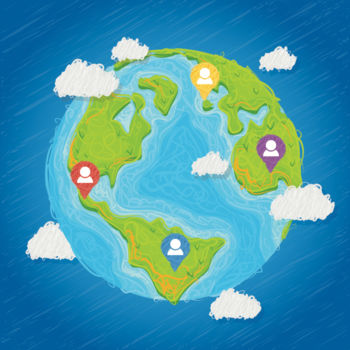 Gameonyms find your game app geography quiz find countries cities and landmarks on the gumiabroncs Gallery