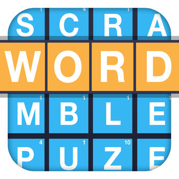 Word Scramble™ - Are you ready for WORD SCRAMBLE? It\'s the most addictive new word puzzle for your iPhone, iPad, and iPod Touch!Swipe your finger in any direction to create words from the jumbled puzzle. Find the best words on the board to earn trophies and high scores! - Play Classic Mode to find as many words as possible in two minutes. Each puzzle is packed with hundreds of words, so you\'ll never run out! - Check out Blitz Mode and train to be the world\'s fastest word speller! Each correct word will increase your time. (Hint : Search for really long words. They completely refresh your time!)- Check out the Marathon mode! Relax and take as long as you need to find a bunch of words!- Need more trophies? Use the special score modifiers to give yourself an edge and earn extra points! Are you ready to SCRAMBLE?