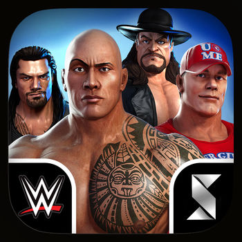 WWE Champions - Free Puzzle RPG - WWE Old School…WWE New School…Let's Settle This!Your dream rivalries are happening live in WWE: Champions, the free RPG that pits the WWE's greatest Superstars against each other in the ultimate quest for stardom. Create and customize your team of Superstars, and battle them through the generations of the WWE's greatest.Think you've got the best team? Prove it! Send your team into the PVP ring and test your fighting skills. Win, and your champions will live on as immortals. Lose, and face defeat at your opponent's hands. The fast-paced wrestling action is easy to learn and rewards skill and quick thinking.Come join a community of fellow WWE fans battling for reputation, power and bragging rights in WWE: Champions!==WWE: CHAMPIONS FEATURES==COLLECT Iconic Superstars From the 80's and 90's Through TodayTravel the history of the WWE and assemble your dream roster of champions from the 80s, 90s and modern era. The Rock, Undertaker, Macho Man Randy Savage, John Cena, Triple H, Big Show, Andre The Giant and more are ready to enter the ring.UPGRADE Your Dream Team With RPG CustomizationEarn XP from fighting in the ring and upgrade your champions to increase their power and customize epic moves. Combine a wide variety of skills and upgrades to create a completely unique team. ENTER the PVP Ring to Fight With FriendsTeam up with friends and tag team against rivals, or turn heel and fight against them for bragging rights.DISCOVER New Champions and Monthly EventsJust like the WWE, Champions is evolving year-round. Join the community in weekly bouts that re-create upcoming Smackdown and Raw battles, enter monthly title events, and recruit up-and-coming Superstars.BATTLE in 1-on-1 or Tag Team MatchesExperience a unique puzzle take on the WWE. Match puzzle pieces to attack, build up energy and even pin your enemies using signature wrestling moves. Think fast and play skillfully to unleash devastation on your enemies in epic battles that you can finish in less than five minutes anytime, anywhere.CRUSH Opponents With Signature MovesEnd games and obliterate rivals with signature moves like John Cena's Attitude Adjustment and The Rock's legendary Rock Bottom. Marvel at powerful upgraded moves that will have your enemies scrambling for safety.WWE: Champions is the ultimate puzzle RPG. Become a promoter in the brutal world of the WWE, play puzzle games to fight your rivals, and collect new Superstars to build the ultimate team.Bring your dream rivalries anywhere with WWE: Champions. Download for free and start battling today!