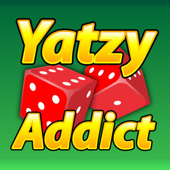 Yatzy Addict - Yatzy Addict! If you are a TRUE LOVER of Yatzy, this is your game! as Featured on http://freeBeeApps.com !!!Yatzy Addict is the famous poker dice game, played all around the world! WORLD WIDE NETWORK MULTIPLAYER IS LIVE!You get 13 rounds, with 3 rolls each round to create POKER HANDS, such as 3 of a kind, 4 of a kind, straights, etc.There are 13 scoring categories, which can only be scored ONCE per game! this is what makes the game so challenging! How to maximize your points!if i missed your custom scoring home town ruleset, email me! ill add it!im cool like that!HOW TO SCORE MULTIPLE YATZY\'s!Some people are confused on how to score multiple YATZY\'s! heres how!If you get another YATZY, you MUST select an empty score slot.You get the score for the score slot, PLUS 100 extra points for your extra Yatzy!I understand that some of you play a bit differently! Im going to add that way too!!Be sure to email me, so i can get ALL your custom rule sets in for the next update!goto http://robertsuh.com for more info on playing this fabulous game!All my games are SUPER FEATURE Rich and COMPLETELY CUSTOMIZABLE!* single player solo or against the computer* pass n play mode for up to 8 players, human or computer* background ipod music support,* HD retina and full size IPAD graphic support! * awesome sounds, and graphics!* just awesome FAST FUN!* GLOWING hint dice! shows you what you need to hit! turn it off, if you want* Computer speed from SUPER slow to SUPER SONIC FAST!Yatzy Addict is FULLY CUSTOMIZABLE.* Change the number of rolls per turn* Change the scoring on all categories* change the points needed for a BONUS* enable multiple 5 of a Kind Yatzys! or turn them off!* small straights.. 4 or 5 dice? YOUR CHOICE! and choose the scoring! * or do you like 1-5 vs 2-6? again, YOUR CHOICE!* play single player, 13 rounds* play against the COMPUTER, head to head* pass N play up to 8 players, both human and computer.* World Wide Network Multiplayer - Play against friends and strangers ALL OVER THE WORLD!If you enjoy dice games, be sure to check out our WORLD FAMOUS Farkle Addict! Play Farkle dice with people ALL around the world, head to head, in real-time.EMAIL ME: robertsuh@gmail.comi read and reply to ALL emails, usually with in 5 minutes. I strive for \