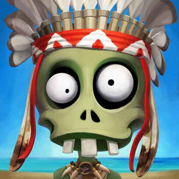 Zombie Castaways - 70 million players around the world play the game in 15 languages.A friendly zombie falls in love with a girl and sets off in search for Zombium to become a Human.The world of zombies is vast, bright, and full of funny characters and animals. Explore magnificent islands and make your way through the thickets to take a step closer to solving the Zombie's secret. Grow unusual plants, fruits, and flowers to cook Zombium. Construct world famous buildings, complete tasks, and decorate your island to become a Human and find your Love.In the game you'll find various zombie-workers helping you clear the island and build a town, such as woodcutters, stoneminers, fishermen, treasure hunters and cooks. You\'ll be able to harvest dozens of unique plants and make terrific potions. You can travel to different islands in search of new treasures in order to reach the Ancestors' Land, become a Human, and then return to the city of people and find your Love.Follow us on our official Facebook page: https://www.facebook.com/ZombieCastaways/