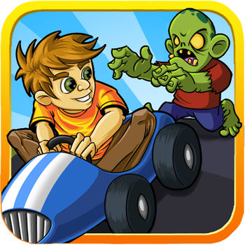 Zombie Go Kart Hill Run Racing - -------Get it now while it\'s free! -------  TOP FREE RACING SEVERAL COUNTRIES! OH NO! Zombies have invaded your city and they\'re looking for brains to eat. Jump into your infamous gokarts and escape by racing through crazy obstacles!Zombie Gokart Road Race is an exciting escape racing game that will make you feel like you are in the game. Watch out for police cars, zombies, and other obstacles unless you want to be eaten!The classic gameplay is SUPER challenging and addicting. You might even go on forever and ever. The family and kids will love it!----------------------------------------------* Prepare yourself for BEAUTIFUL ZOMBIE CRAZY GRAPHICS. * Battle for the BEST SCORE with Game Center Leaderboard.* CHALLENGE YOUR FRIENDS WITH MULTIPLAYER.* A universal game that works on all devices----------------------------------------------FEATURES:- A simple touch and move gesture to guide your gokart- Amazing escape sound that makes you feel like you are really in the game!