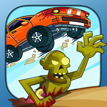 Zombie Road Trip - In Zombie Road Trip the rules are simple - escape the zombie horde or have your brain eaten. Are you up for the challenge?From the creators of the Tiki Totems saga comes a game that blends the boundaries of runner and racer trick games! Race against the unrelenting Zombie Horde across the great wastelands in the never-ending game of survival. Shoot the zombies ahead with your impressive arsenal of weapons and witness true ragdoll-packed gore galore!Perform tricks to get boost and drive as far as you can in the frantic game of make tricks or die a horrible death\