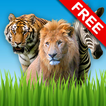 Zoo Sounds Free - A Fun Animal Sound Game for Kids - Take your kids to the zoo, anytime! A fun application to play with your children, and a great distraction to avoid a meltdown. Zoo Sounds features four of the noisiest zoo animals ever to show up on your iPhone, iPad and iPod Tough. Educate your child with beautiful high-resolution photos of Lions, Elephants and more. Two modes of play:• Large Images: Designed for younger children, a large photo of an animal with their name is shown.• Smaller Images: When your children are familiar with the animals, challenge them with identifying the correct animal out of the set of photos. \